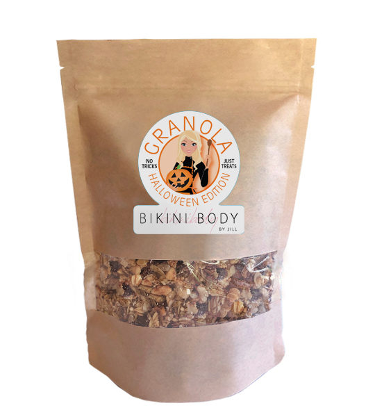 Bikinibody-halloween-granola-no-tricks-just-treats-gezond-eiwit-karamel-pumpkin-spice
